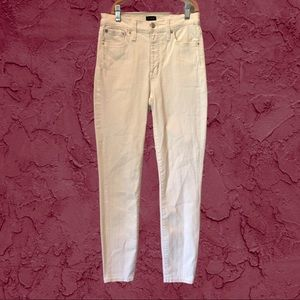 """J. CREW FACTORY 25"""" High Rise Skinny Jeans"""